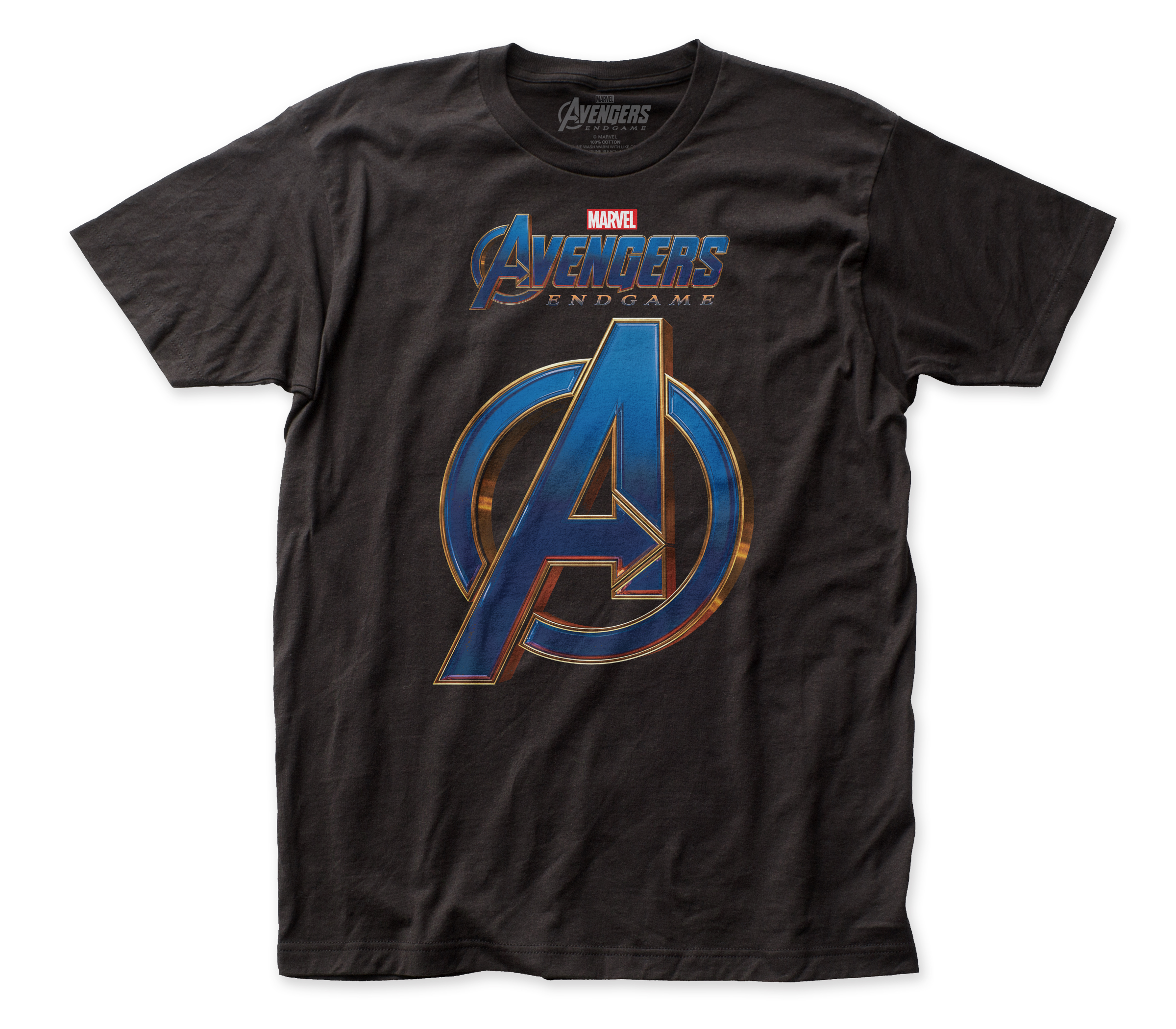 Avengers End Game Logo Fitted Jersey Tee
