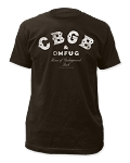 CBGB Distressed Logo Tee