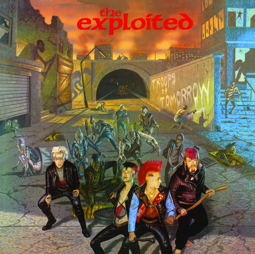 The Exploited Troops Of Tomorrow