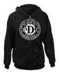 Drastic Plastic Logo Zip-Up Men's Hoodie