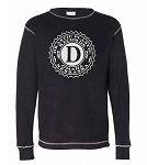 Drastic Plastic Long Sleeve Thermal - Black