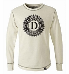 Drastic Plastic Long Sleeve Thermal - White