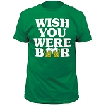 Impact Originals wish you were beer fitted jersey tee
