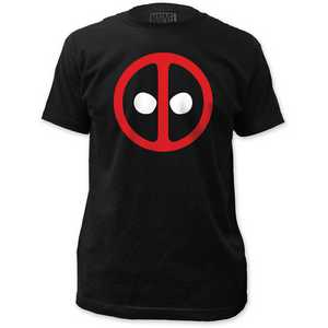 Deadpool logo fitted jersey tee