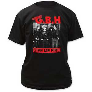 G.B.H. give me fire adult tee