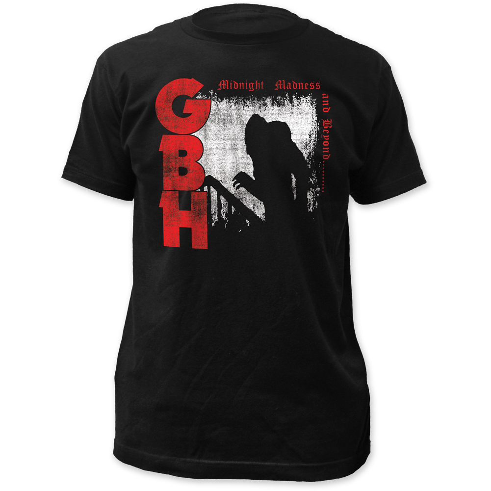 G.B.H. Midnight Madness Fitted Men's Black Shirt