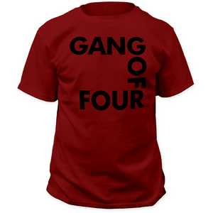 Gang of Four logo adult tee