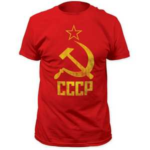 Impact Originals hammer & sickle fitted jersey tee