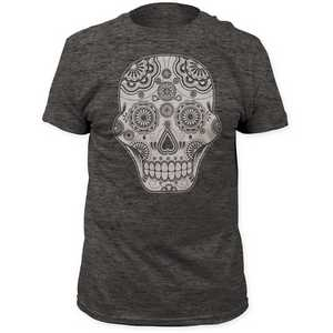 Impact Originals sugar skull fitted jersey tee