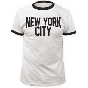 Impact Originals new york city ringer fitted jersey tee