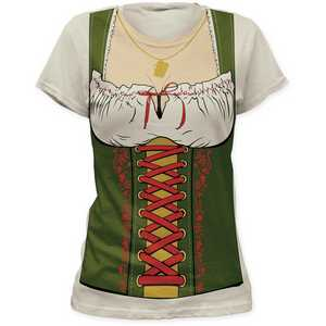 Impact Originals octobeerfest barmaid women's tunic