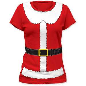 Impact Originals Mrs. Claus women's tunic