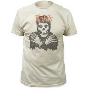 The Misfits Classic Skull - Distressed Fitted Jersey Tee