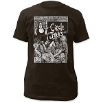 Circle Jerks Bad Religion Fitted Coal Shirt