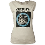 Germs Return! December 3 Starwood Print Junior's Fitted Cut Tee Shirt