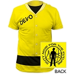 Devo - Duty Now For The Future Suit, Yellow T Shirt