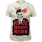 Misfits ride johnny ride fitted jersey tee