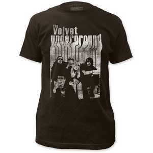 Velvet Underground Band with Nico - Fitted Jersey Tee