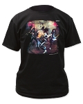 Kiss ALIVE ROCK N ROLL Print Men's Classic Cotton Shirt