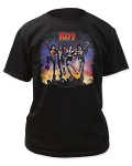 Kiss Destroyer Jumping Print Men's Classic Cotton Shirt