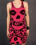 Drastic Plastic Clothing Misfits Dress - Pink