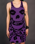 Drastic Plastic Clothing Misfits dress - purple