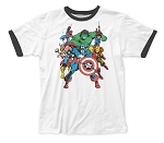 The Avengers - Fitted Jersey Tee