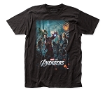The Avengers Poster - Fitted Jersey Tee