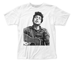 Bob Dylan Portrait fitted jersey tee