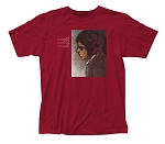 Bob Dylan Blood on the Tracks fitted jersey tee