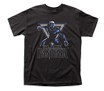 Black Panther Triangle adult tee