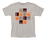 Buzzcocks Squares Soft Fitted 30/1 Cotton Tee