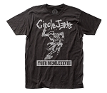Circle Jerks 1988 Tour fitted jersey tee