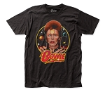 David Bowie Space Oddity fitted jersey tee