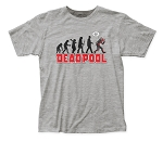 Deadpool Evolution Soft Fitted 30/1 Cotton Tee