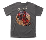 Deadpool Amazing Deadpool Traditional Fit 18/1 Cotton Tee