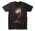 Iron Man Poster - Fitted Jersey Tee