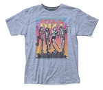 KISS Vintage Destroyer fitted jersey tee