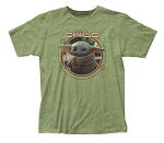 The Mandalorian Child Orbit fitted jersey tee