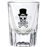 The Monster Club Shot Glass