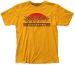 Retro Sunset Wheatfields Nebraska Tee (Unisex)