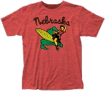 Cowgirl Corn Pin-up Nebraska Crewneck  (Unisex)