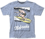 Surfin' in Nebraska Tee (Unisex)