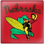 Cowgirl Corn Pin-Up Nebraska 2.5