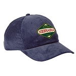 Nebraska Home Grown Navy Corduroy Seedcorn Hat