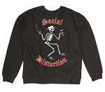 Social Distortion Skelly Logo Crew Neck Sweatshirt