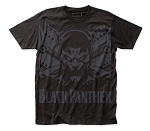 Black Panther Shadow big print subway tee