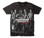 Guardians of the Galaxy Poster big print subway tee