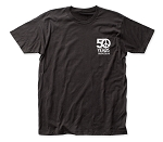 Woodstock 50 Years Soft Fitted 30/1 Cotton Tee