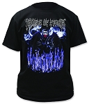 Cradle of Filth 20 Years of Evil Print Men's Cotton Shirt